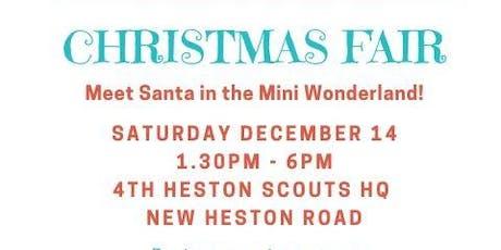 4th Heston Scouts Christmas Fair tickets