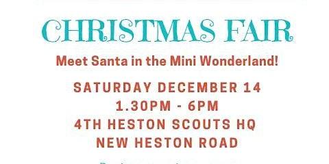 4th Heston Scouts Christmas Fair