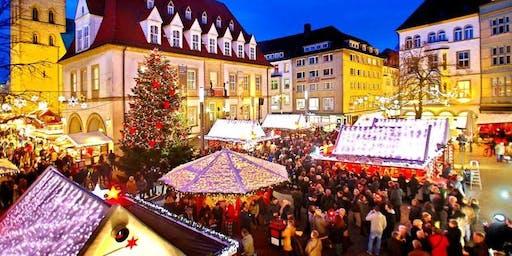 Kerstmarkt in Bielefeld (Duitsland)