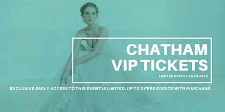 Opportunity Bridal VIP Early Access Chatham Pop Up Wedding Dress Sale tickets