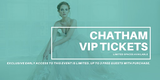 Opportunity Bridal VIP Early Access Chatham Pop Up Wedding Dress Sale