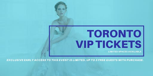 Opportunity Bridal VIP Early Access Toronto Pop Up Wedding Dress Sale