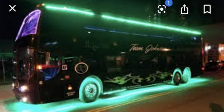 New Year's Eve 2020  two floor Party Bus.& Champagne Breakfast tickets