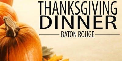 EARLY THANKSGIVING DINNER  - BATON ROUGE