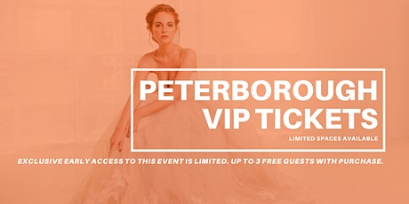 Opportunity Bridal VIP Early Access Peterborough Pop Up Wedding Dress Sale tickets
