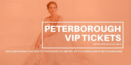 Opportunity Bridal VIP Early Access Peterborough Pop Up Wedding Dress Sale