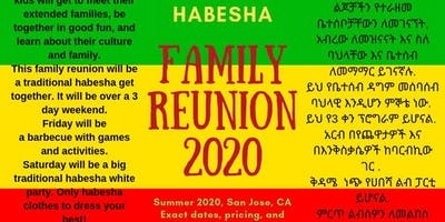 Habesha Family Reunion 2020