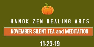 November Silent Tea and Meditation
