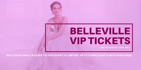 Opportunity Bridal VIP Early Access Belleville Pop Up Wedding Dress Sale tickets