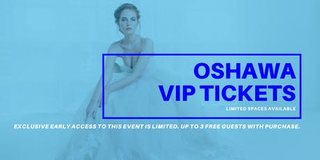 Opportunity Bridal VIP Early Access Oshawa Pop Up Wedding Dress Sale tickets