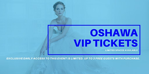 Opportunity Bridal VIP Early Access Oshawa Pop Up Wedding Dress Sale