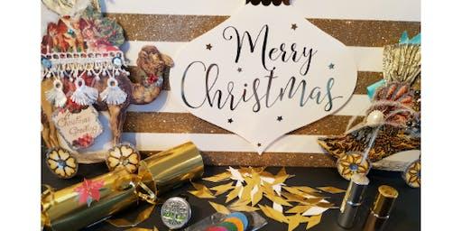 Christmas Cracker Make and Take with Carol