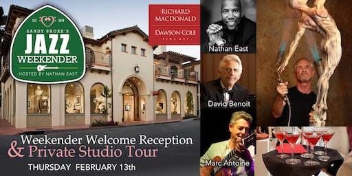 Sandy Shore's  Jazz Weekender :  Welcome Gallery Reception Concert