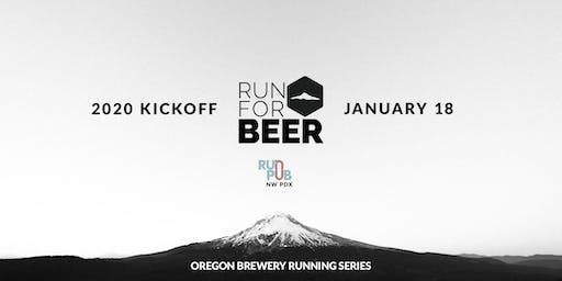 Oregon Brewery Running Series 2020 Kickoff & Brewfest