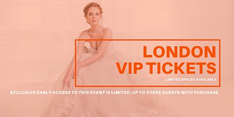 Opportunity Bridal VIP Early Access London Pop Up Wedding Dress Sale tickets
