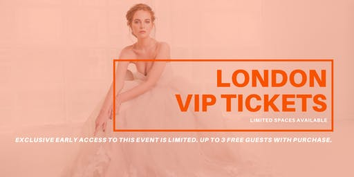 Opportunity Bridal VIP Early Access London Pop Up Wedding Dress Sale