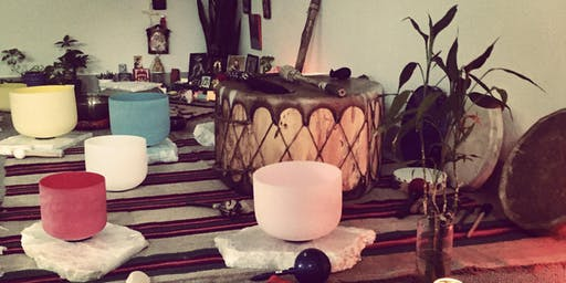 Extraction and Transmutation Ceremony.  Alchemical Sound Immersion