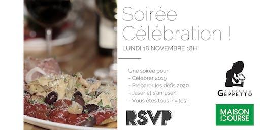 Soirée Célébrations au Gepetto MDLC Mont-Saint-Hilaire - 18 novembre