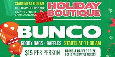 BUNCO Game & Holiday Boutique - Vendor Ticket