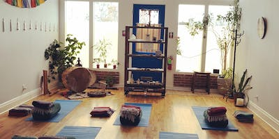 Yin Yoga.  Last Quarter Moon Cacao Ceremony. Sound Bath