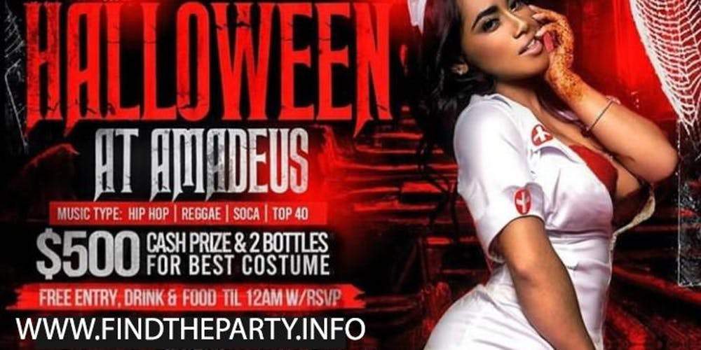 Amadeus Halloween Bash Queens Ny Find The Party