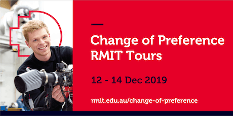 RMIT Change of Preference City Campus Tours tickets