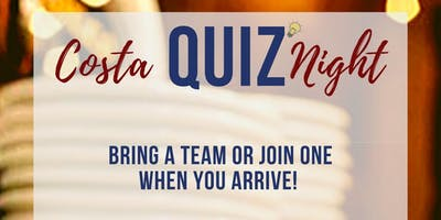 Costa Coffee Quiz Night
