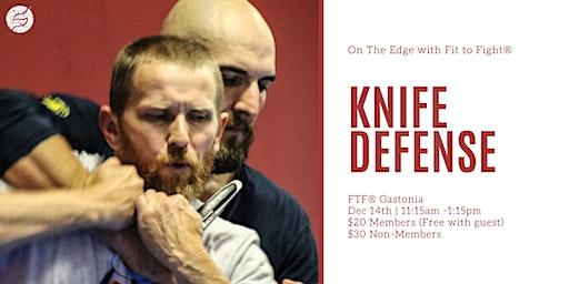 Knife Defense Seminar - On The Edge
