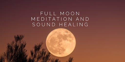 Full Moon Meditation and Sound Healing