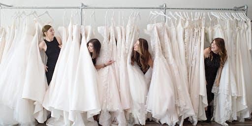 Ladies of Lineage Bridal Sample Sale - $500, $1000, $1500 Bridal Gown Racks
