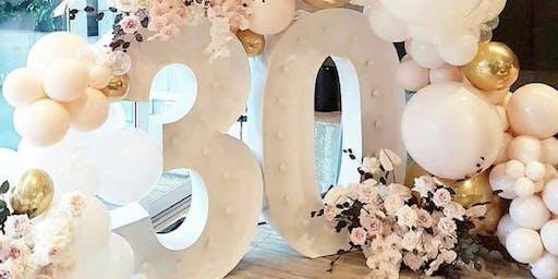 Trisha's 30th Winter Wonderland; Diamonds & Pearls