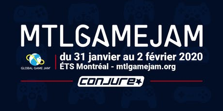 Montreal Game Jam 2020 tickets
