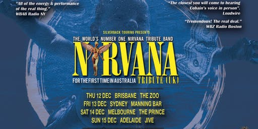 Nirvana (Tribute UK) - Outshined discount support tickets