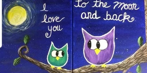 Owl Mom/Friend &Me Paint Event- Fall River