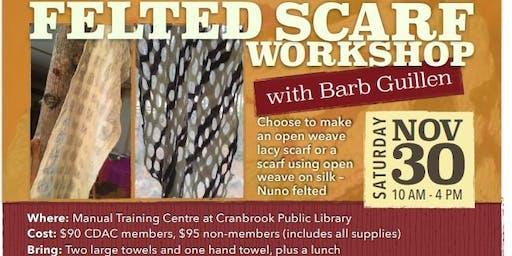 Felted Scarf Workshop
