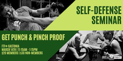 Self-Defense Seminar - Punch & Pinch Proof
