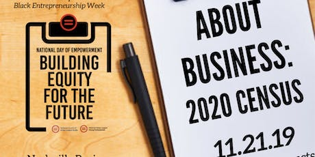 About Business: Census 2020 tickets