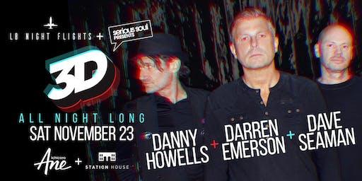 DANNY HOWELLS, DARREN EMERSON, DAVE SEAMAN = (3D) (BUSTO'S BDAY)