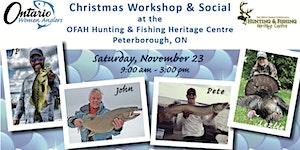 Ontario Women Anglers Christmas Workshop & Social 2019