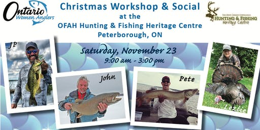 Ontario Women Anglers Christmas Workshop & Social 2019