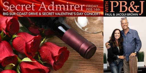 Sandy Shore's  Jazz Weekender :  Secret Admirer Valentine's Day Concert