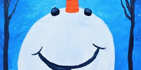 Happy Snowman with Painting & Vino Sacramento tickets