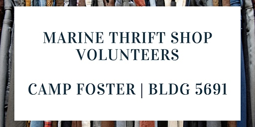 Marine Thrift Shop Volunteer - Saturdays