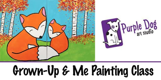 Grown-Up & Me Paint Class