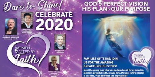Women Ignited By Faith~Dare to Shine with Joyce & John Smith