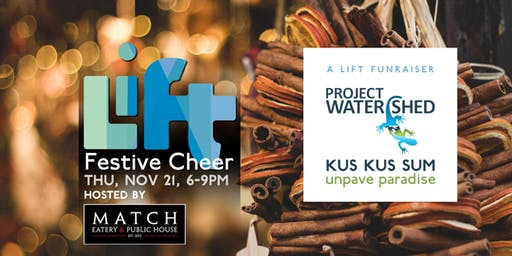 Festive Cheer: A LIFT FUNraiser for Kus-kus-sum
