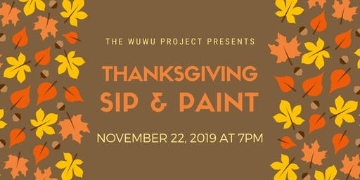 Thanksgiving Sip & Paint