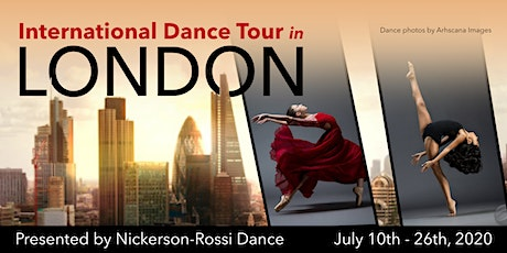 LONDON Video Submissions for IDT in London tickets