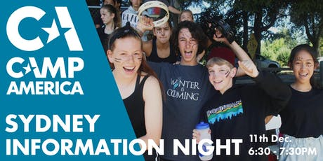 Sydney - Camp America Info Session tickets