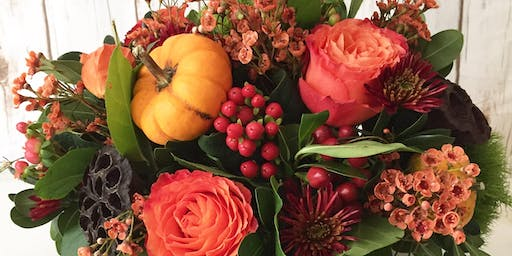 Design Your Own Thanksgiving Floral Centerpiece